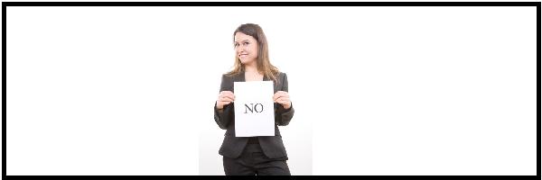 דימוי עצמי ולהגיד לא